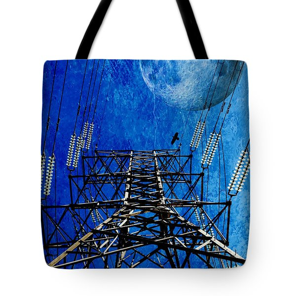 Electric Power Transmission... Tote Bag by Werner Lehmann