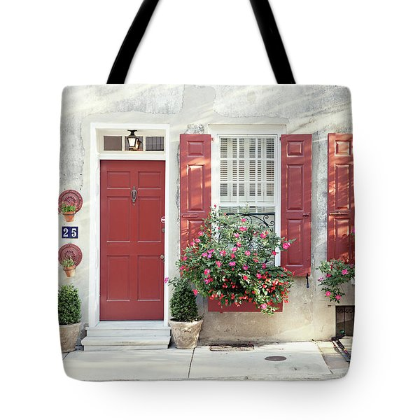 25 Queen Street Tote Bag