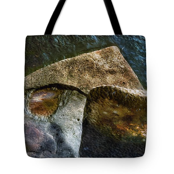 Stone Sharkhead Tote Bag