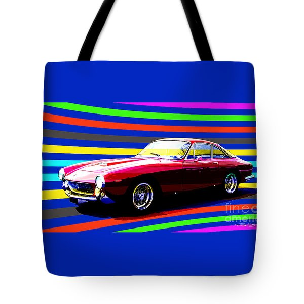 250 Gt Lusso Tote Bag by Roger Lighterness