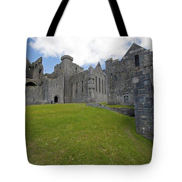 257 Rock Of Cashel Tote Bag