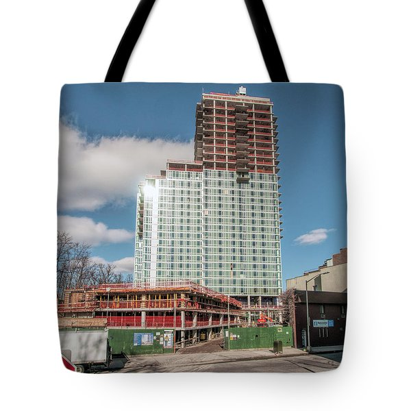 Tote Bag featuring the photograph 25jan17 by Steve Sahm