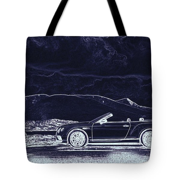 Bentley Continental Gt Tote Bag