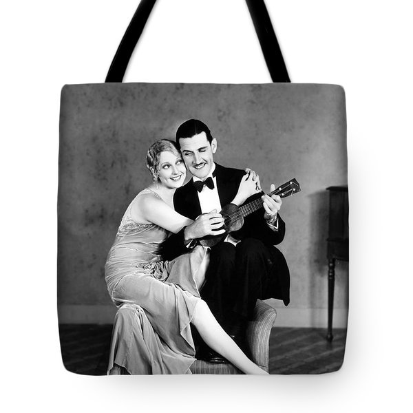Silent Film Still: Couples Tote Bag by Granger