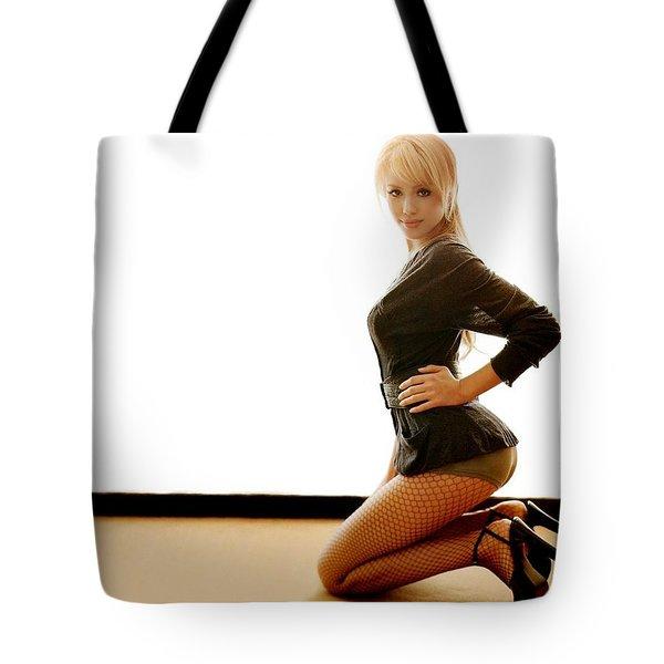 2639 Celebrity Jessica Alba  Tote Bag