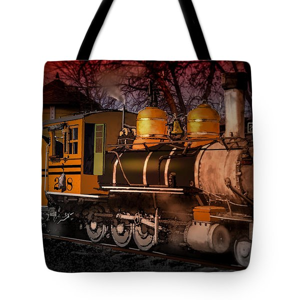 #268 Is Simmering Tote Bag by J Griff Griffin