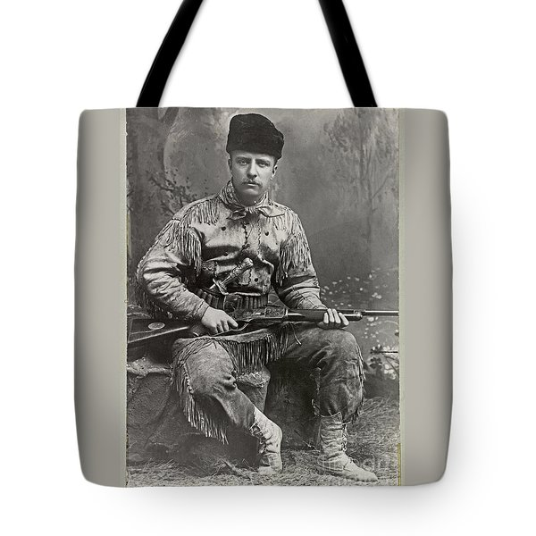 26th United States President Tote Bag by John Stephens