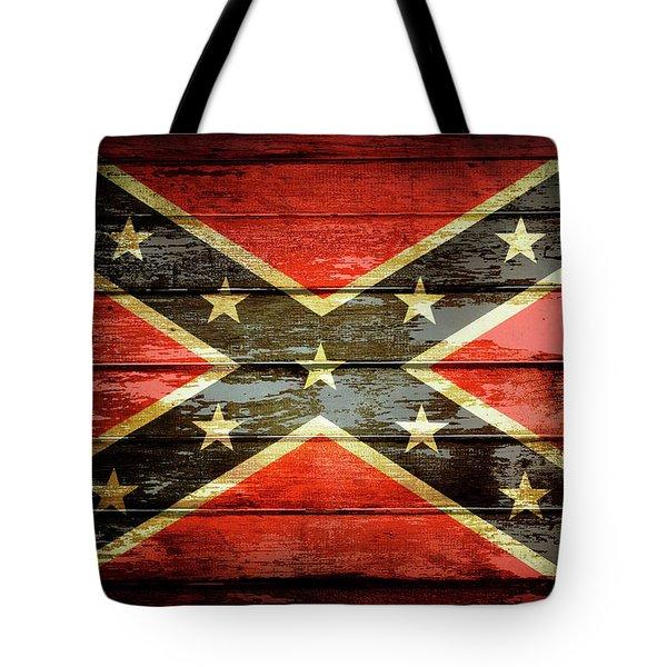 Confederate Flag 2 Tote Bag