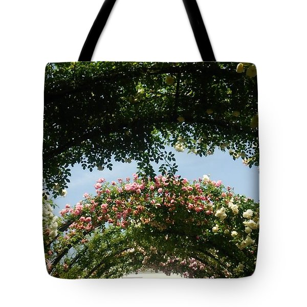 Rose Tote Bag by Tomoko Takigawa