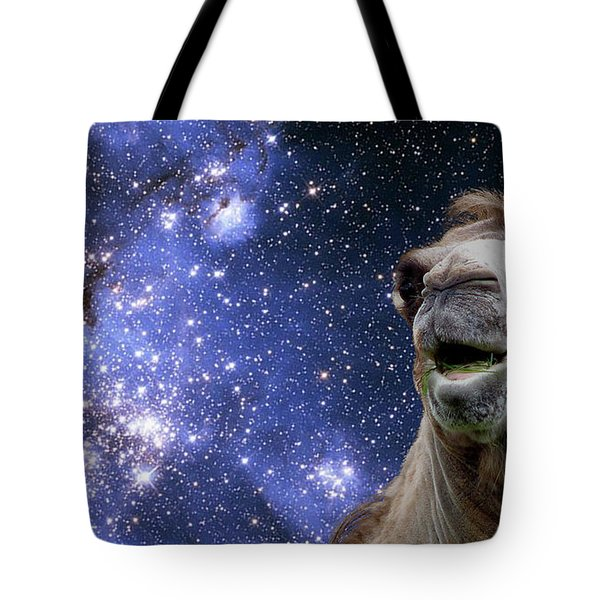 27340 Funny Space Camel Tote Bag