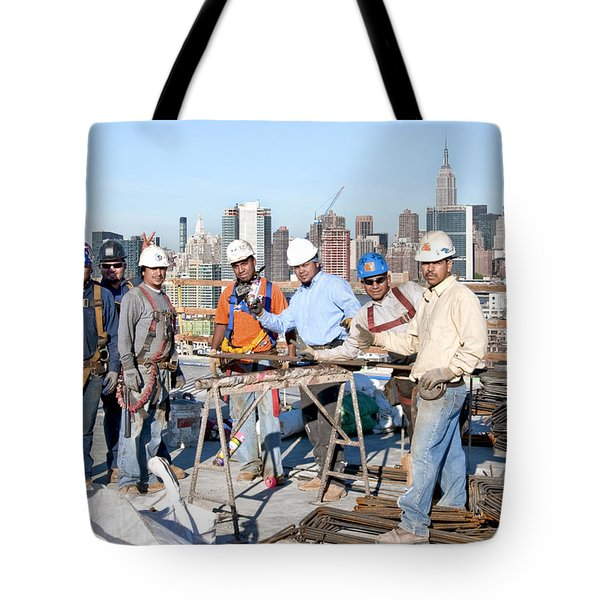 27th Street Lic 4 Tote Bag