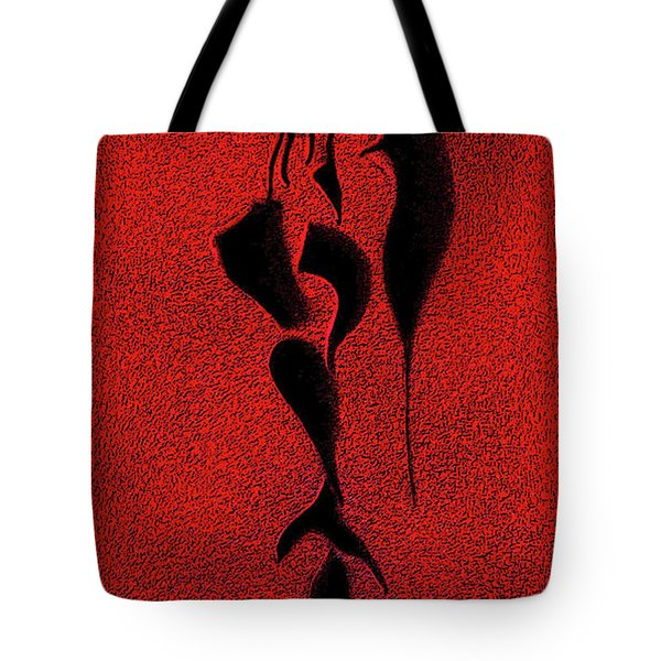 Tote Bag featuring the digital art . by James Lanigan Thompson MFA