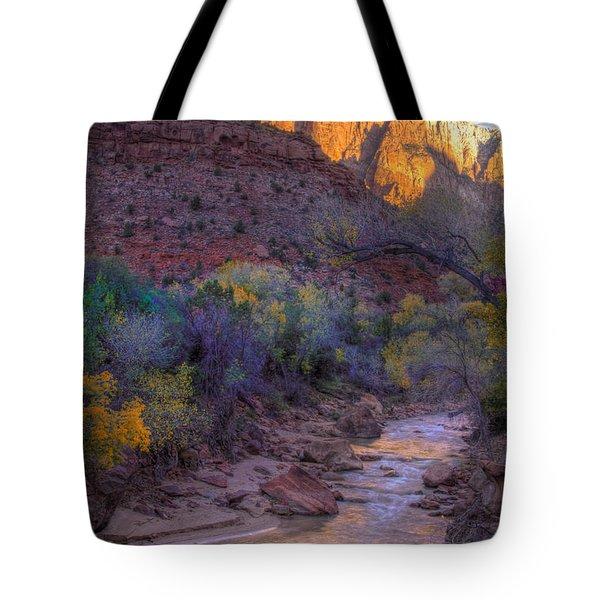 Zion National Park Utah Tote Bag