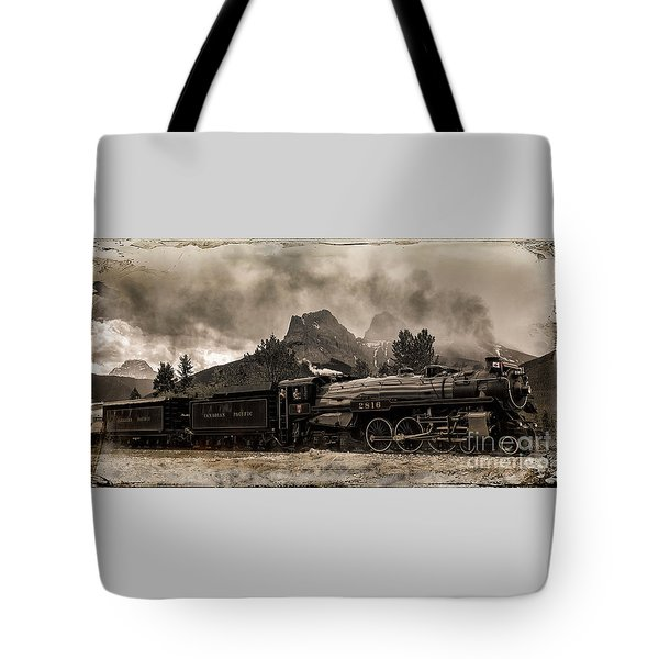 2816 Empress At Three Sisters - Canmore Tote Bag