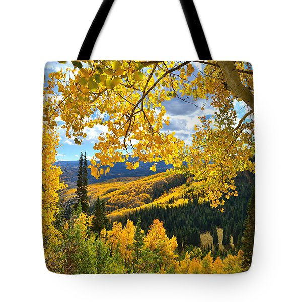 Ohio Pass Fall Colors Tote Bag