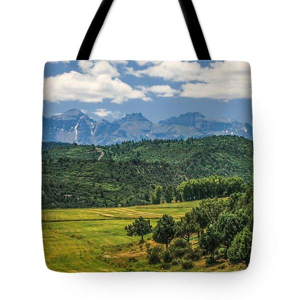 #2918 - Sneffles Range, Colorado Tote Bag