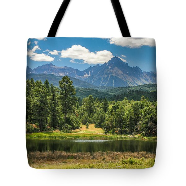 #2933 - Sneffles Range, Colorado Tote Bag