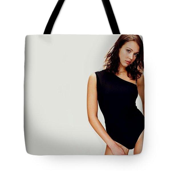 2966 Celebrity Jessica Alba  Tote Bag