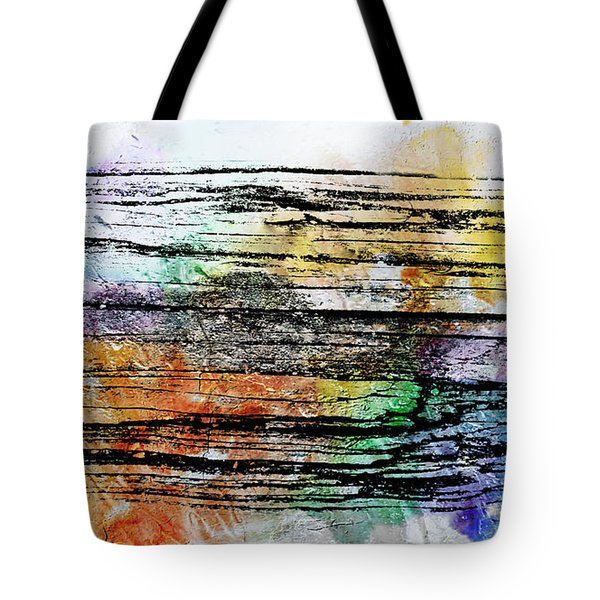 2g Abstract Expressionism Digital Painting Tote Bag