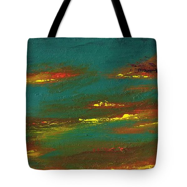 2nd In A Triptych Tote Bag by Frances Marino