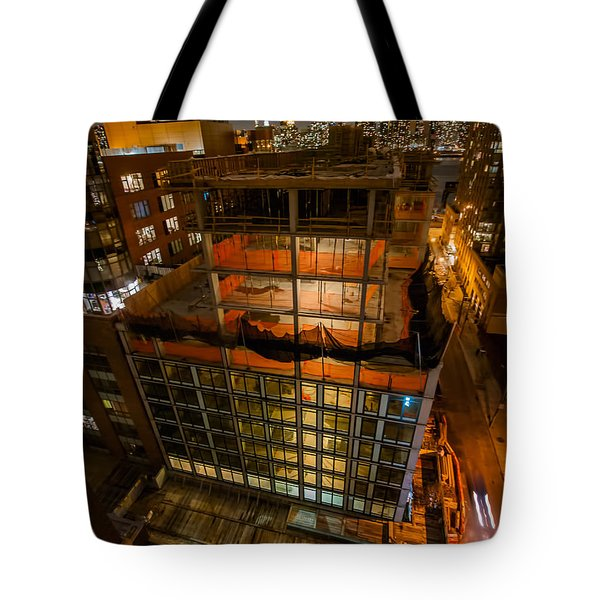 Tote Bag featuring the photograph 2nd St Lic 1 by Steve Sahm