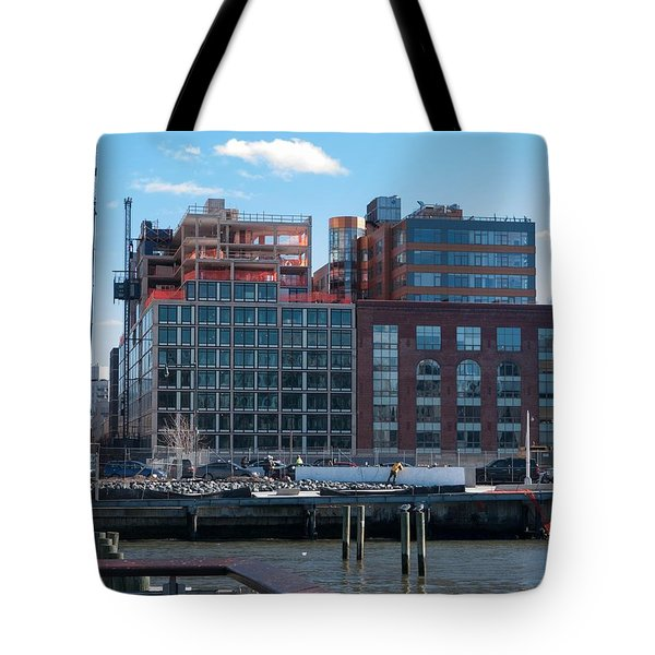 Tote Bag featuring the photograph 2nd St Lic 3 by Steve Sahm