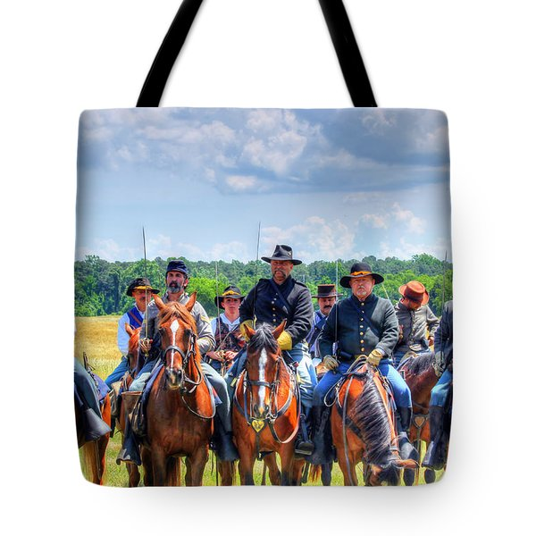 2nd Us Cavalry  Tote Bag
