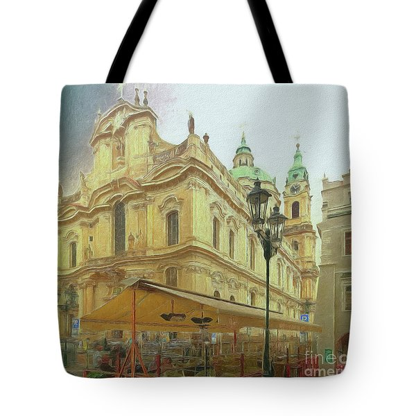 2nd Work Of St. Nicholas Church - Old Town Prague Tote Bag