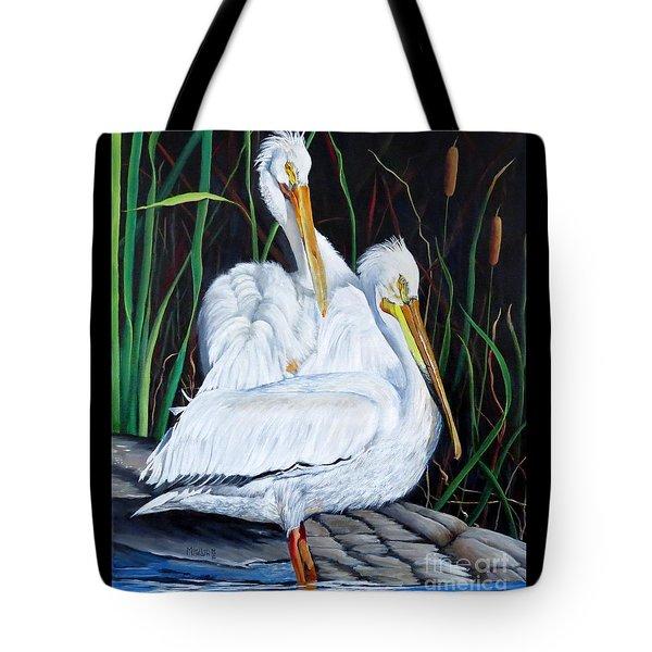 2's Company Tote Bag