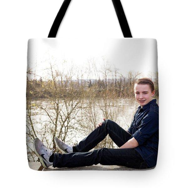 11 Tote Bag by Rebecca Cozart