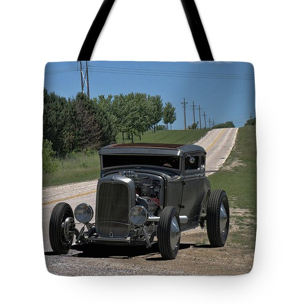 1931 Ford Coupe Hot Rod Tote Bag