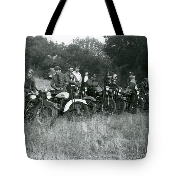 1941 Motorcycle Vintage Series Tote Bag
