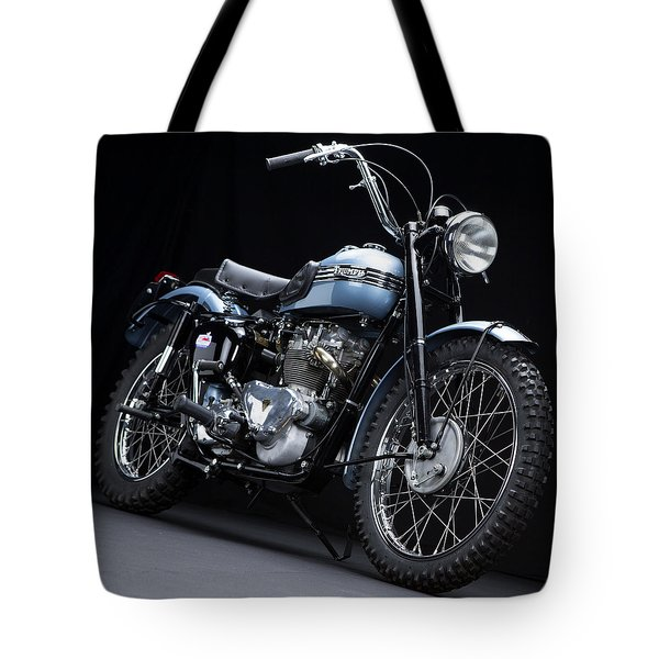 1949 Triumph Trophy Tote Bag