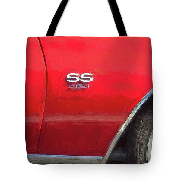Tote Bag featuring the photograph 1970 Chevy Chevelle 454 Ss  by Rich Franco
