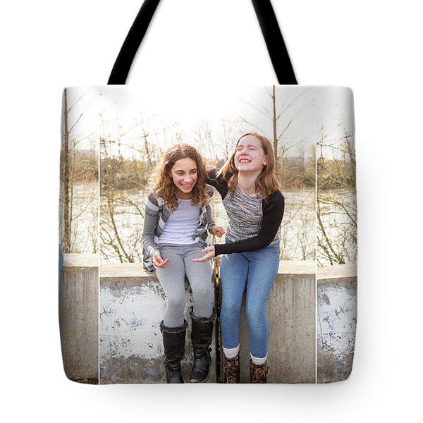 3 Tote Bag by Rebecca Cozart