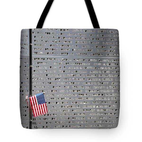 9-11 Memorial Rocky Point New York Tote Bag
