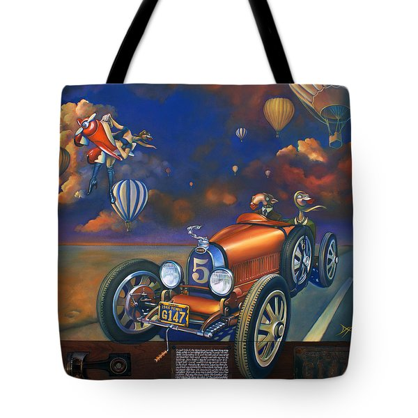 A Selfish Pair Of Jeans Tote Bag by Patrick Anthony Pierson