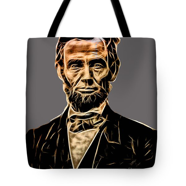 Abraham Lincoln Collection Tote Bag by Marvin Blaine