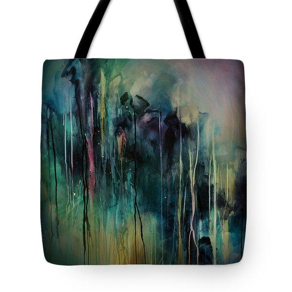 Abstract Tote Bag by Michael Lang