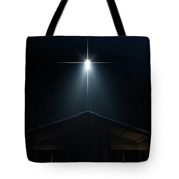 Abstract Nativity Scene Tote Bag