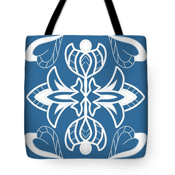 The White Plant Tote Bag