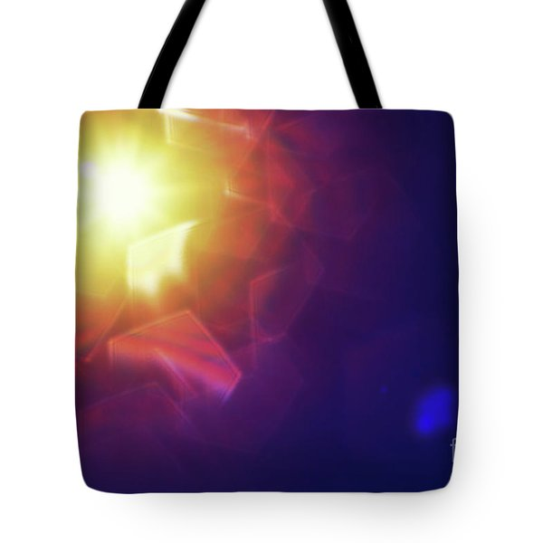Tote Bag featuring the photograph Abstract Sunlight by Atiketta Sangasaeng