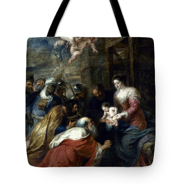 Adoration Of The Magi Tote Bag by Granger