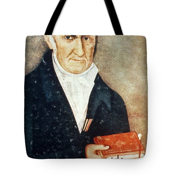 Alessandro Volta, Italian Physicist Tote Bag by Science Source