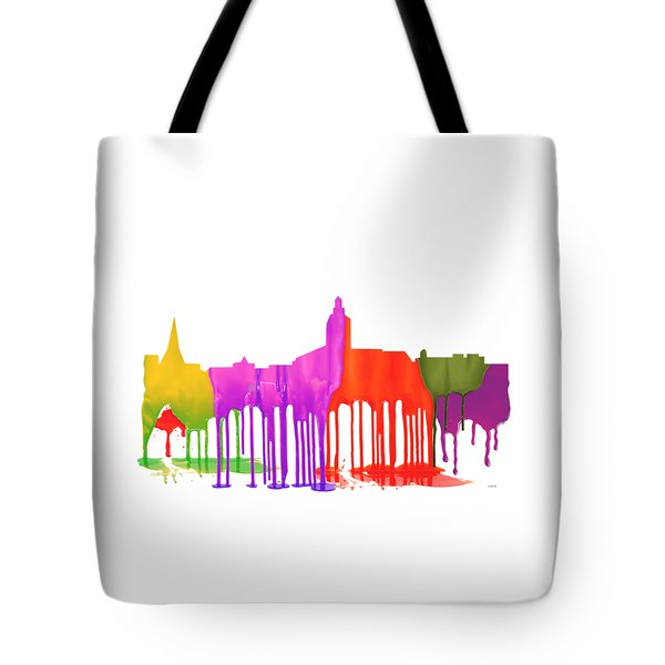 Annapolis Maryland Skyline      Tote Bag