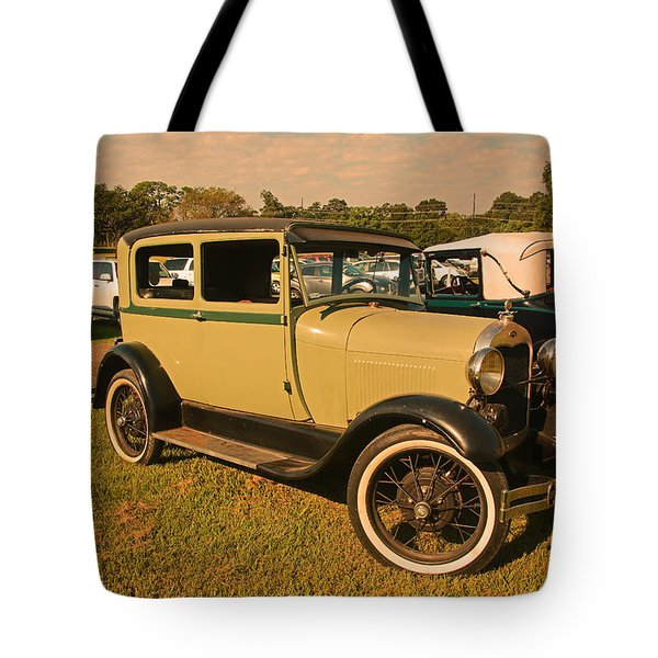 Antique Car Tote Bag