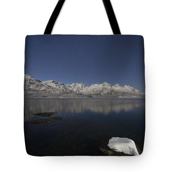Arctic Night Tote Bag