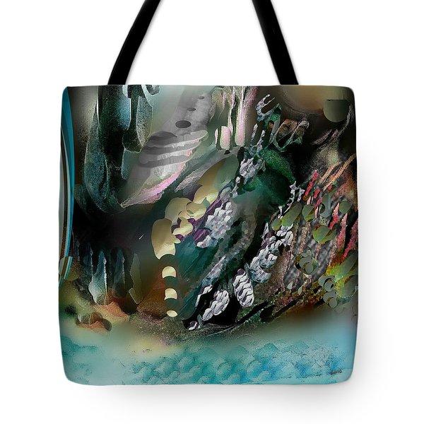 Divine Colors Of Art Tote Bag