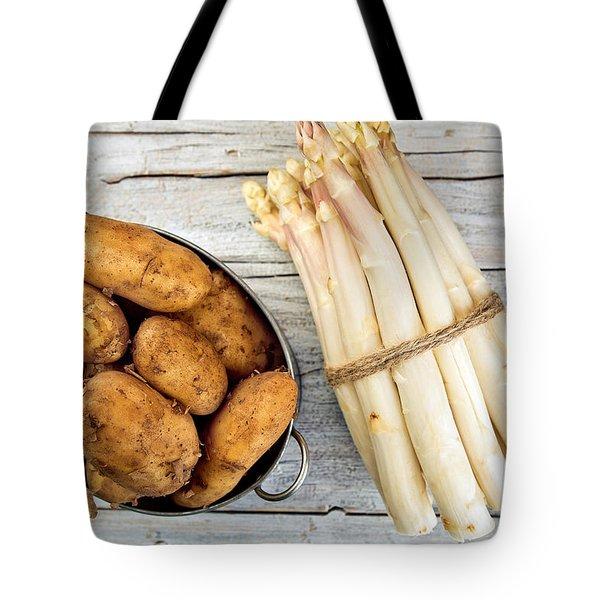 Asparagus Tote Bag by Nailia Schwarz