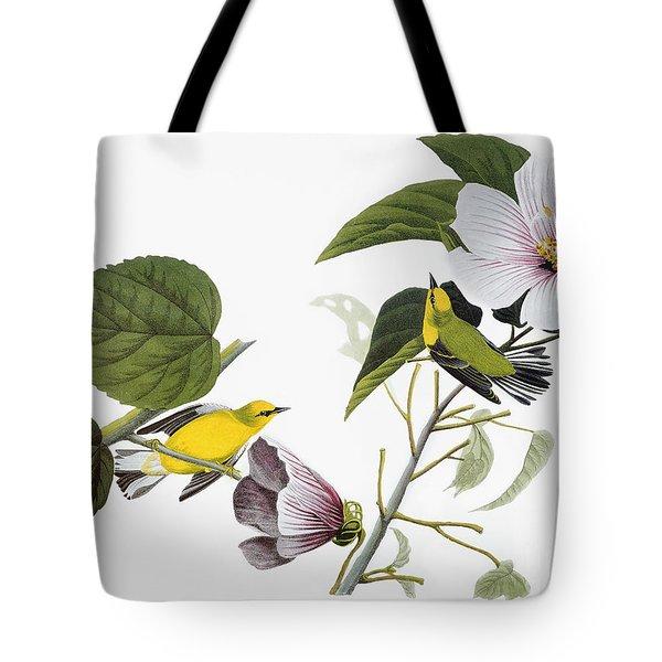 Audubon: Warbler, (1827-38) Tote Bag by Granger